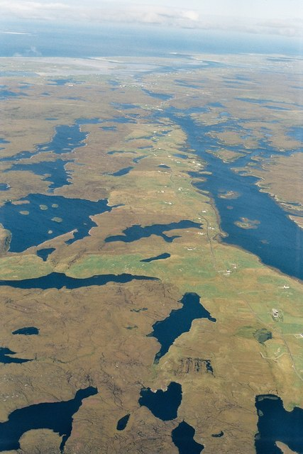 Loch Euphort: Loch full of islands, island full of lochs
