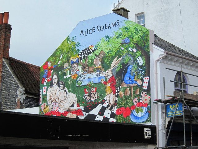 Alice Dreams wall