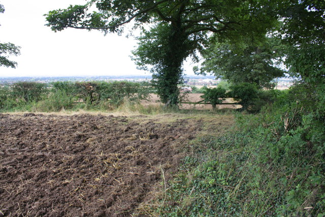 Ploughed field on south side Bullamoor Road