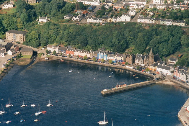A story of Tobermory, 2007 (aerial)