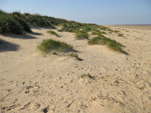 Dunes towards Holme