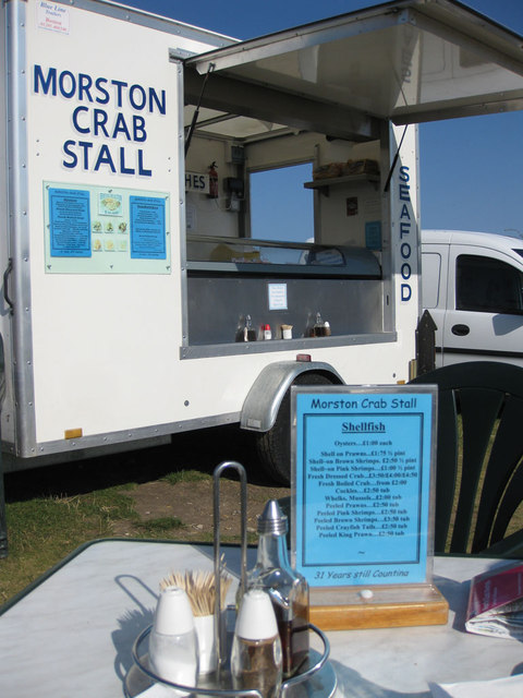 The Morston Crab Stall