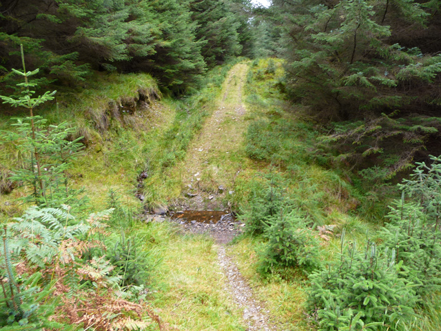 Ford on the Glen Orchy Mountain Bike Trail