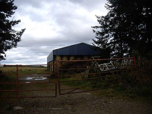 A barn off Couper's Road