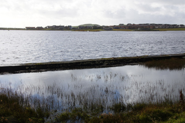 North end of Loch of Clickimin, Lerwick