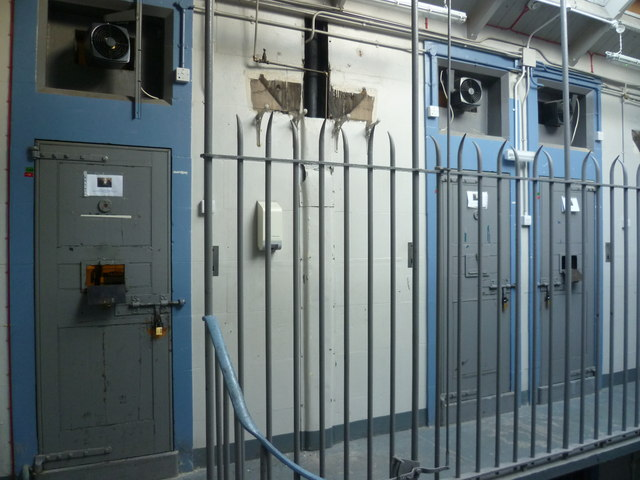 Leith police cells