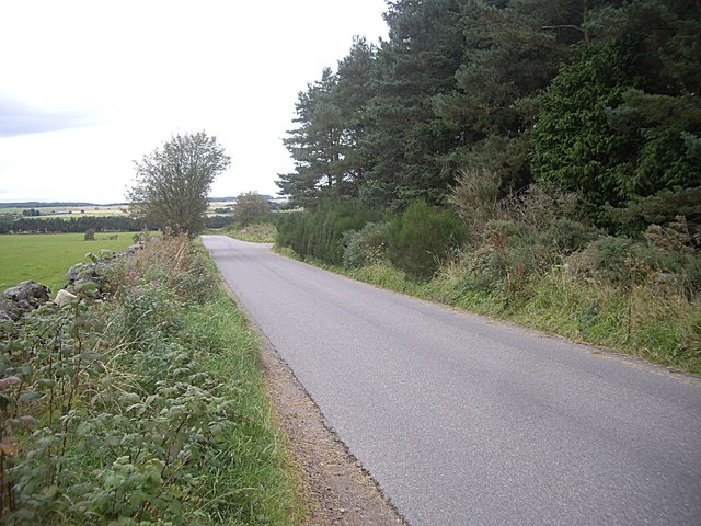 North on the Couper's Road