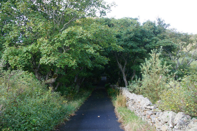 Drive to Helendale House, Lerwick