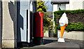 J3281 : Pillar box, Glengormley by Albert Bridge
