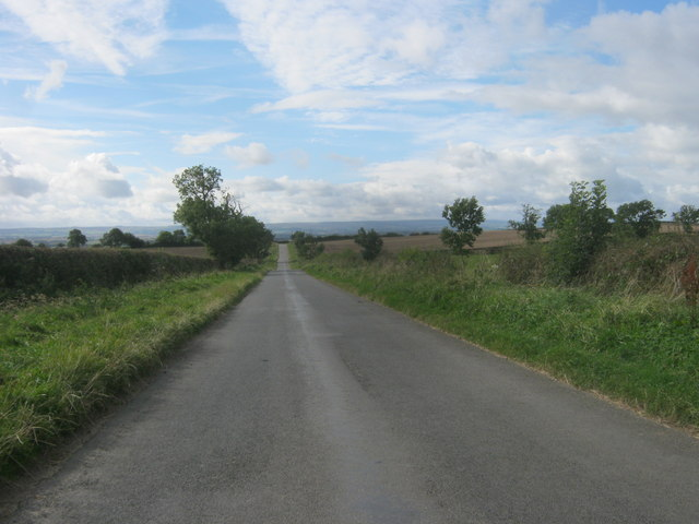 Road from Bolam to Morton Tinmouth