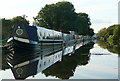 SK7387 : Boats on the Chesterfield Canal by Graham Horn
