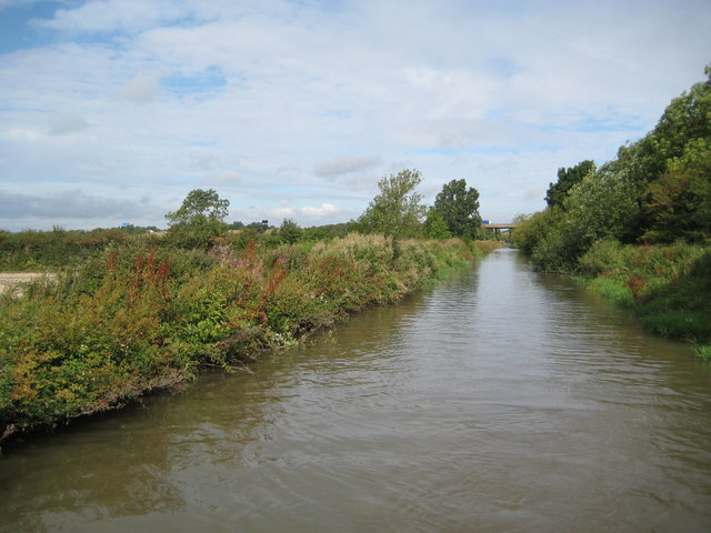 Oxford Canal: Reach in Combe Fields