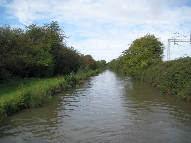 Oxford Canal: Reach north-west of Stretton Stop