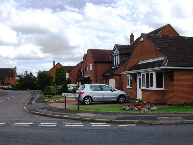 Houses in Lavenham Close, Whitestone
