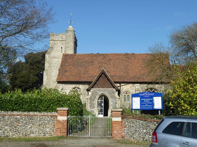 Sutton at Hone church