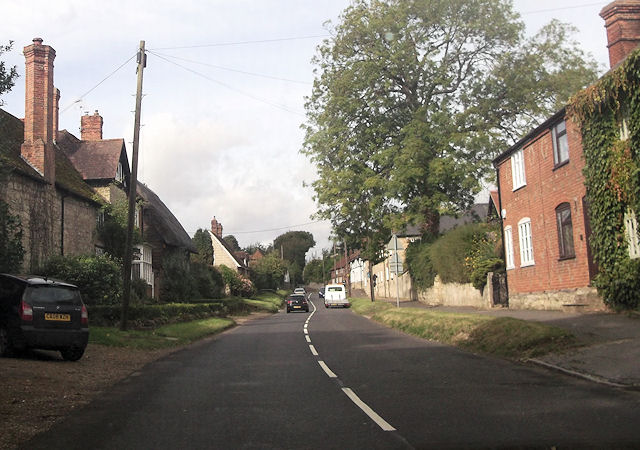 Oving road through Whitchurch