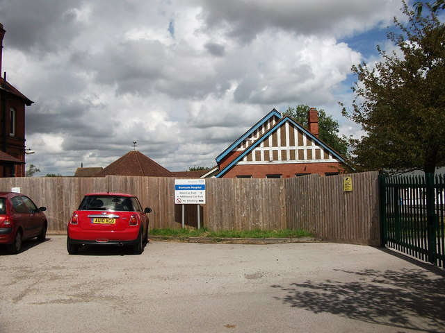 Outbuildings at Bramcote Hospital