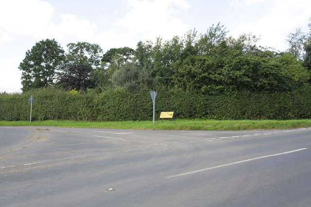 Junction of Low Lane and A6108