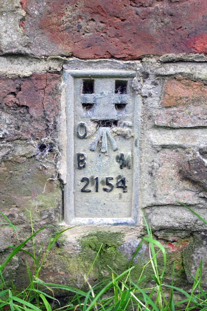 Benchmark on Hill View, Bullamoor Road