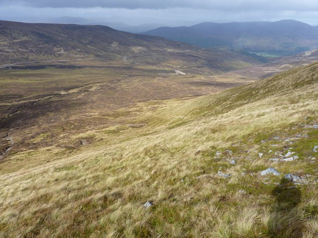 The northwest slopes of Creag an Daimh