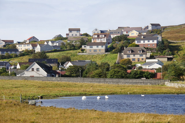 Houses at Westerloch, Lerwick