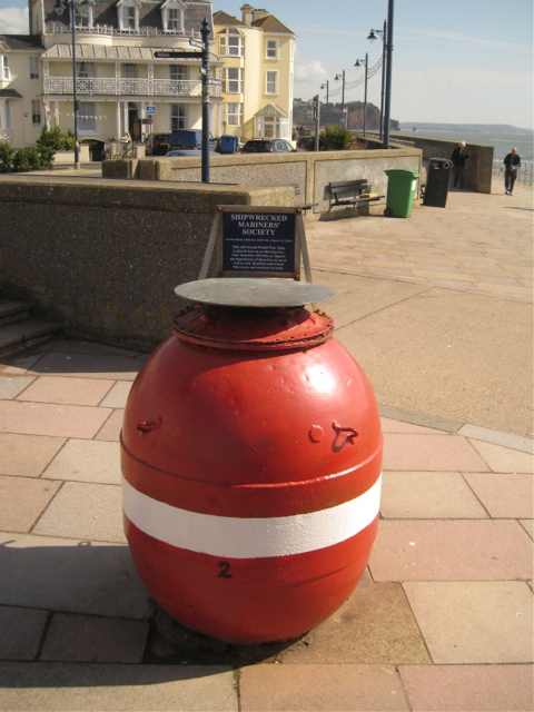 Collecting box for the Shipwrecked Mariners' Society