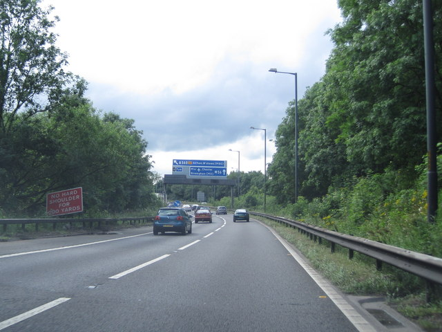 M60 to M56 slip road