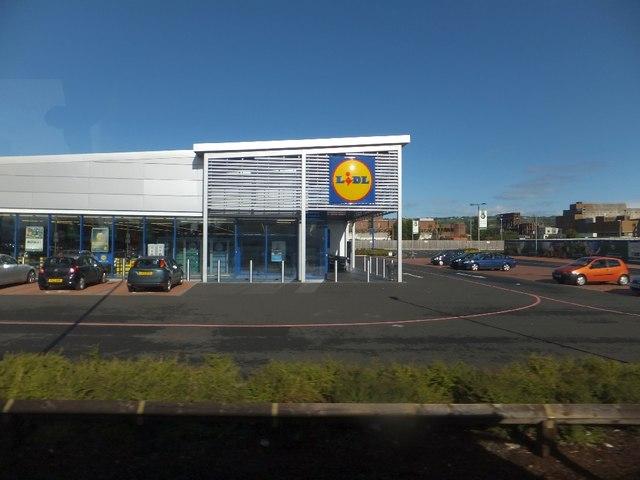 Lidl supermarket  Carrickfergus