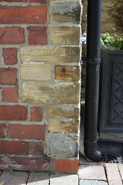 Benchmark on #35 Reeth Road