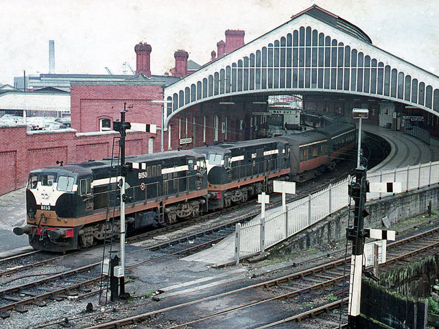Cork (Kent) station 1971 - 4