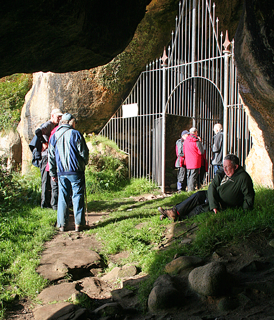 Entrance to King's Cave