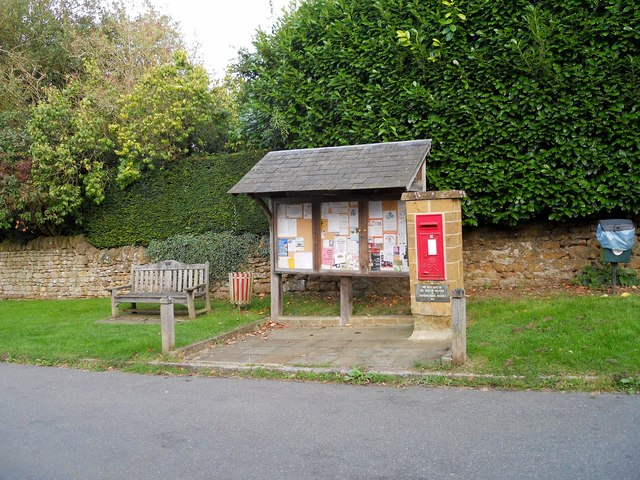 Warmington Village Noticeboard