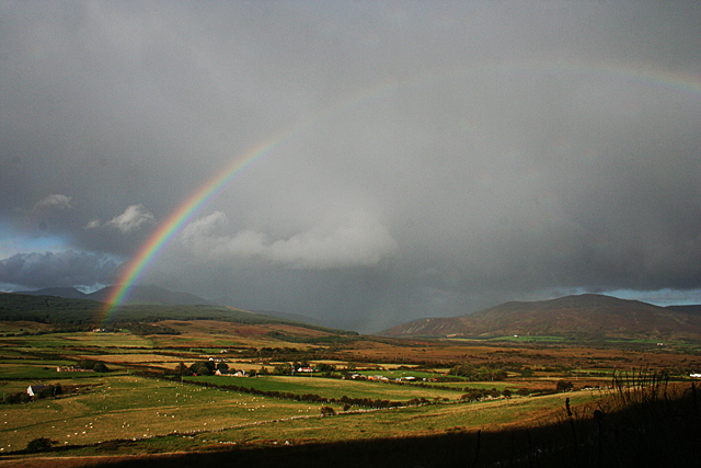 Rainbow over Machrie Moor