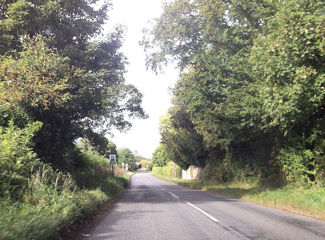 Entering Pitchcott from Whitchurch