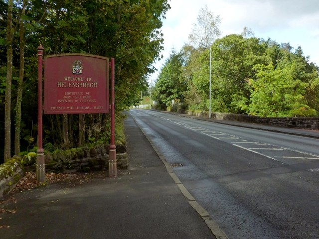 Entering Helensburgh
