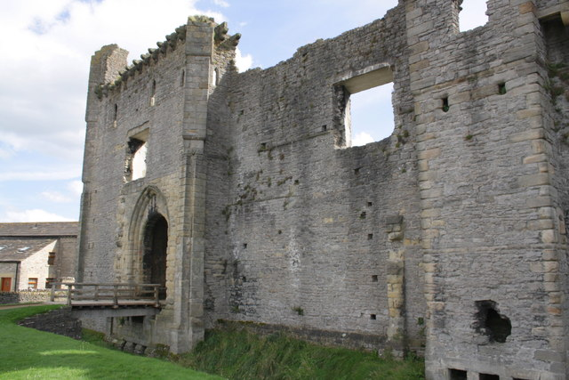 North face of the Castle
