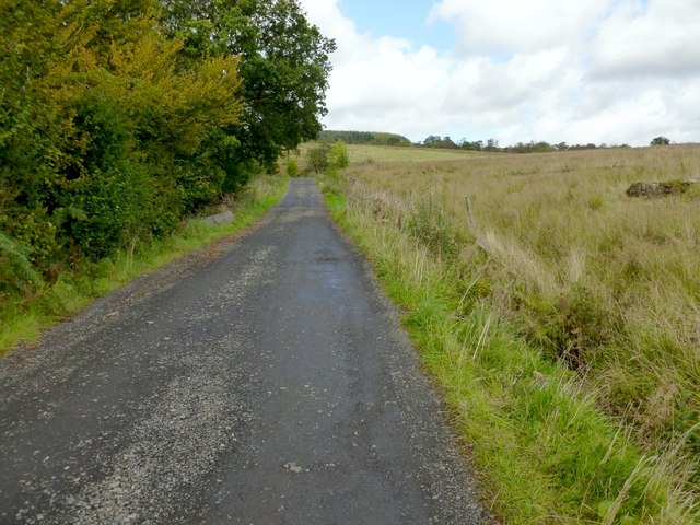 Track to Ardencaple Farm