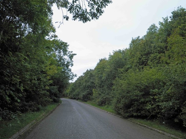 Gerbestone Lane near junction 26 M5 motorway