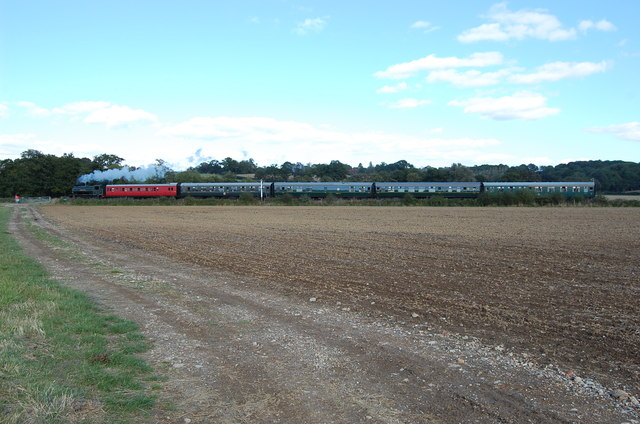 Steam Train on the K&ESR