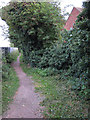 TL4360 : Footpath from end of Thornton Close by Hugh Venables