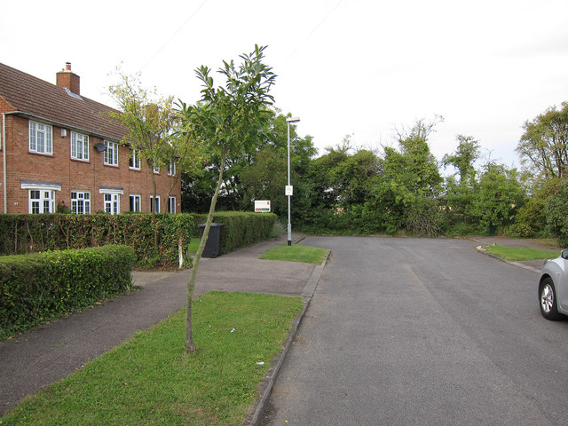 End of Thornton Way