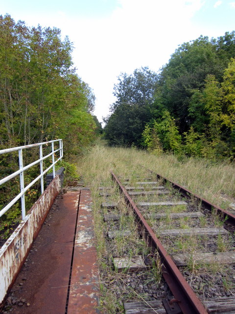 Disused Oxford Bletchley railway