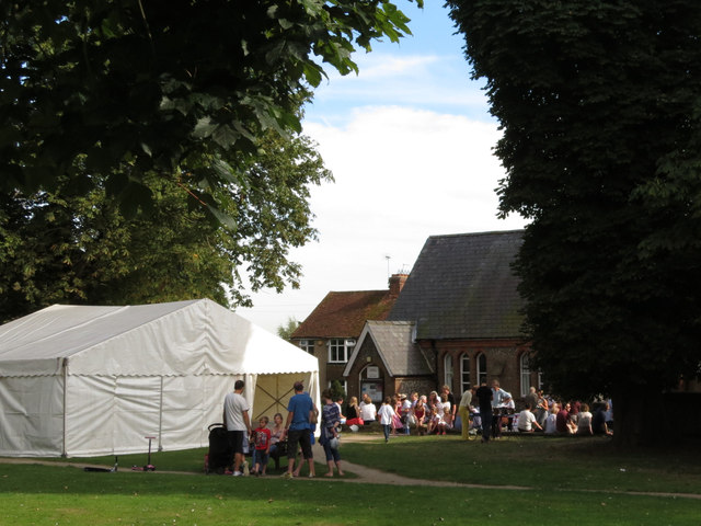 Flamstead Village Hall on Fete day