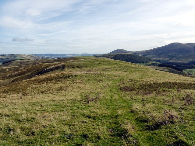 Prehistoric settlement site east of Laddies Knowe