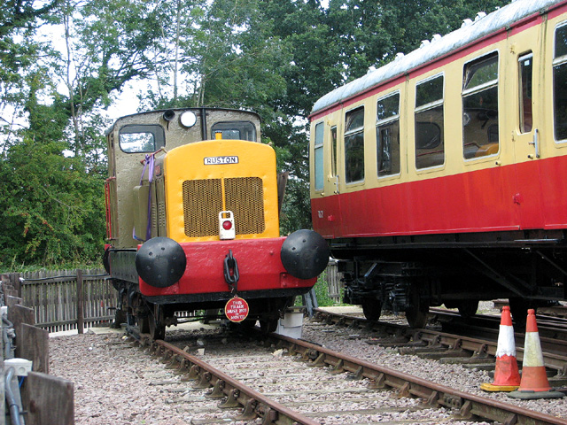 Shunter at Whitwell & Reepham railway station