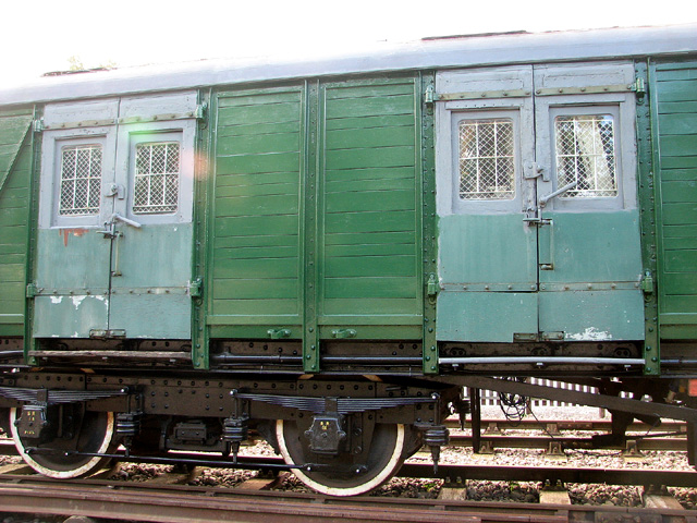 Brake van (detail) at Whitwell & Reepham railway station