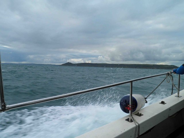 Rame Head from sea