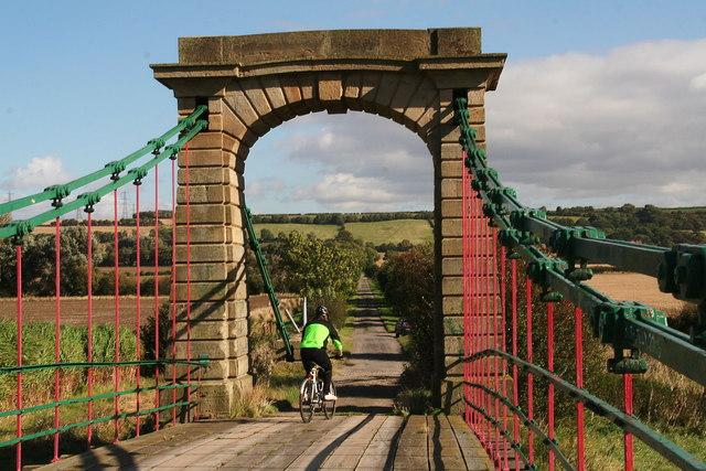 Horkstow Bridge's weight limit