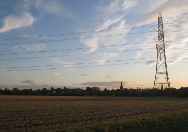 Evening near Heckington