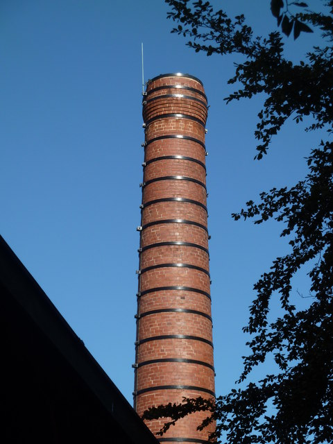 Chimney - Joy Mining Machinery, St John's, Worcester